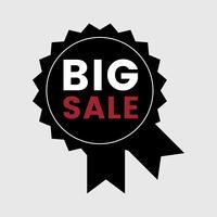 Vettore di distintivo promozionale di grande vendita