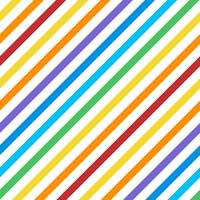 Seamless colorful diagonal stripes pattern vector