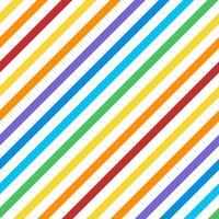 Vecteur de motif de rayures diagonales colorées sans soudure