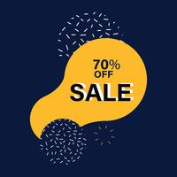 SALE badge shopping and retail vector