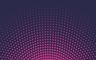 Pink gradient halftone background vector