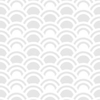 Seamless pattern of half circles