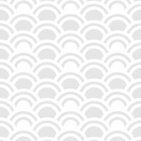 Patrón sin fisuras de semicírculos