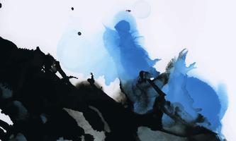 Aquarelle d'encre colorée fond texturé