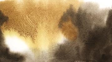 Textura de la mancha de acuarela marrón abstracta