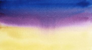 Abstracto azul y púrpura acuarela mancha textura