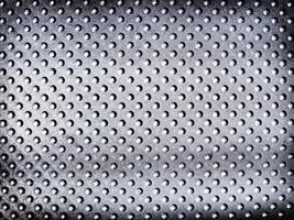 Metalic silver spotted textured background