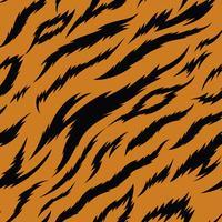 Tiger strisce modello vettoriale senza soluzione di continuità
