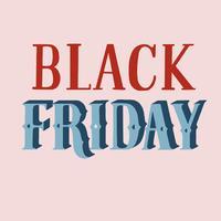 Handschriftlicher Stil der Black Friday-Typografie