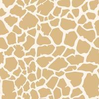 Seamless giraff hudmönster vektor