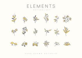 växter design set