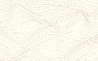 Wave texturen crème achtergrond vector
