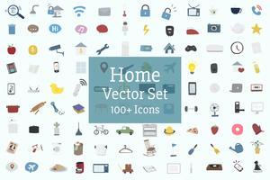 Hem och familj vektor