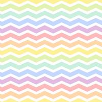 Seamless colorful zig zag pattern vector