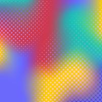 Flerfärgad gradient halvton bakgrunds vektor
