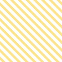 Pastel yellow seamless striped pattern vector