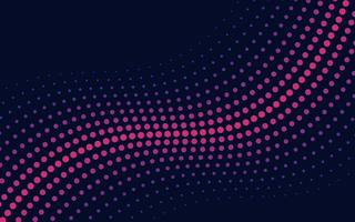 Mezzitoni ondulati di rosa