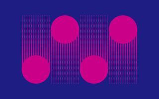 Halvton design av rosa prickar