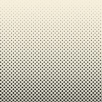Black and beige halftone badge