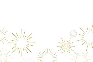 Firework explosions background design vector