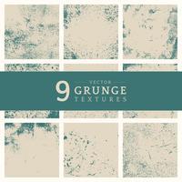 Conjunto de textura angustiada grunge beige