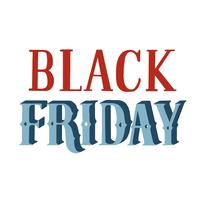 Style manuscrit de la typographie Black Friday