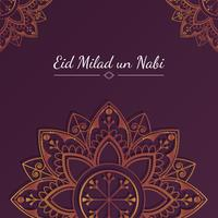 Eid kort illustration