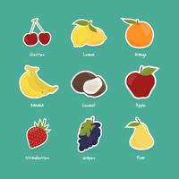 Collection de fruits et de baies