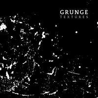 Grunge monocromático angustiado textura vector