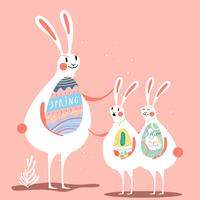 Easter celebration illustration