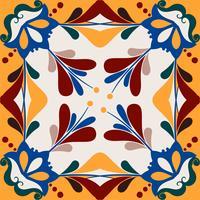 Illustration du motif texturé de tuiles
