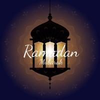 Ramadan kort illustration