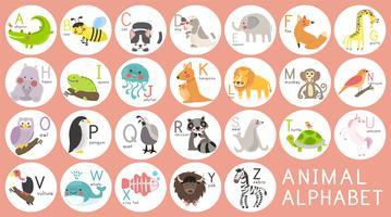 Illustration ritning stil av vilda djur