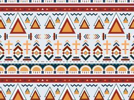 Ilustração, de, étnico, padrão