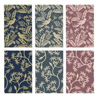 Conjunto de diseño de patrón de planta de naturaleza