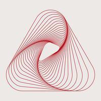 Vetor de papel de parede abstrato dinâmico padrão