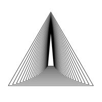 Resumen patrón de papel tapiz dinámico vector