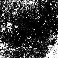 Vecteur de texture en détresse grunge monochrome