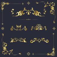 Elementos de diseño ornamentales