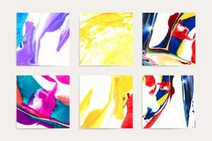 Peintures acryliques mixtes