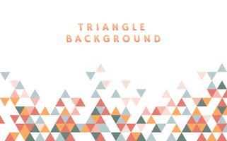Ilustración de patrón de triángulo colorido