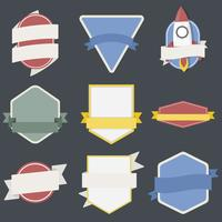 Illustration de la collection de badges