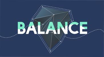 Illustrazione di equilibrio della salute