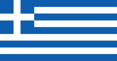 Illustration of Greece flag