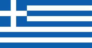 Abbildung der Griechenland-Flagge