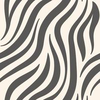 Gray zebra print pattern vector