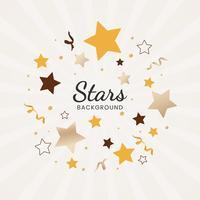 Illustration de fond d'étoiles