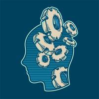 El vector de trabajo del cerebro.