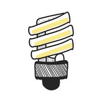 Vector of a lightbulb
