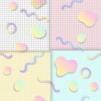 Pastellhintergründe für Blogs-Vektoren